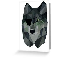 Diamond Dog Greeting Card