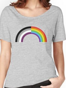 Homo-asexual Rainbow Women's Relaxed Fit T-Shirt