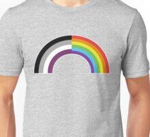 Homo-asexual Rainbow Unisex T-Shirt