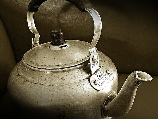 No Time for Tea Anymore...Obsolete.. by Berns