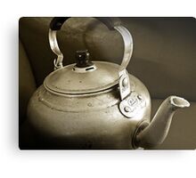 No Time for Tea Anymore...Obsolete.. Metal Print