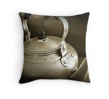 No Time for Tea Anymore...Obsolete.. Throw Pillow