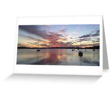 River Derwent 10/29/09 Greeting Card