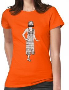 prohibition and curls Womens Fitted T-Shirt