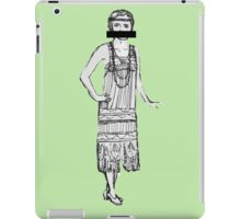 prohibition and curls iPad Case/Skin
