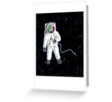 Space Visual Odyssey Greeting Card