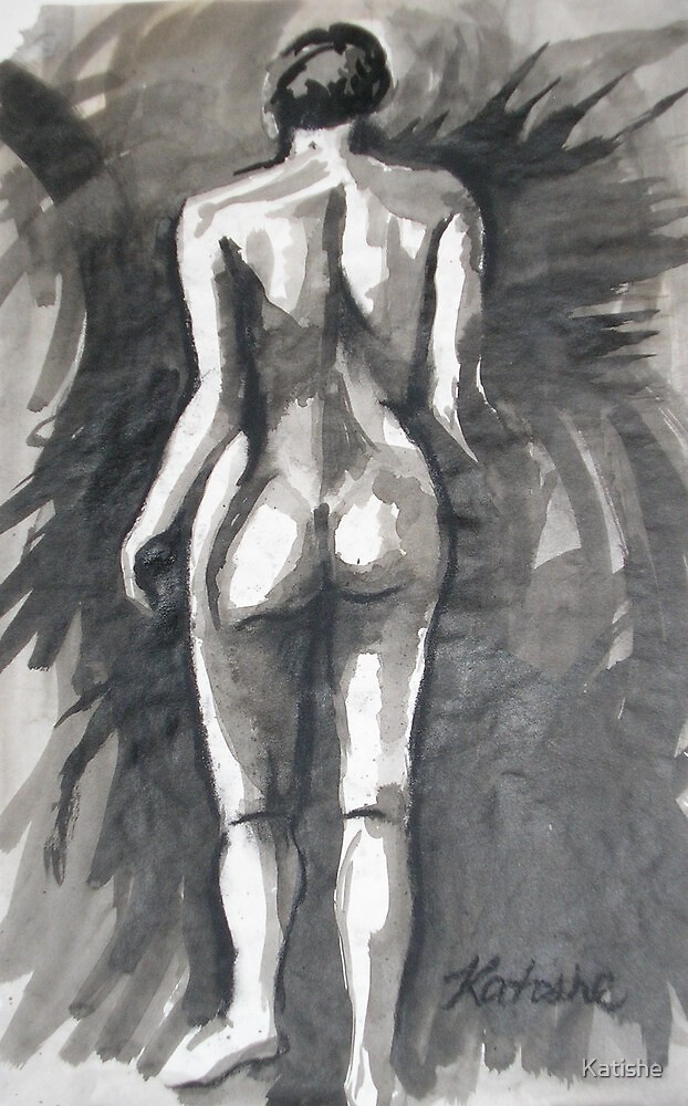 Nude in Ink  by Katishe