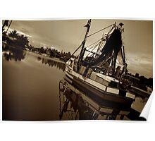 sepia trawling Poster