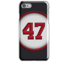 47 - Glavine iPhone Case/Skin