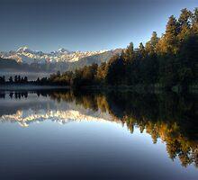 Lake Matheson by Michael Treloar