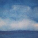 Clouds on blue by gillbee