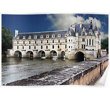 Chenonceau Castle  Poster