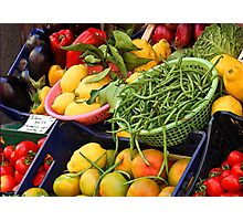 Fruit & Veg Photographic Print