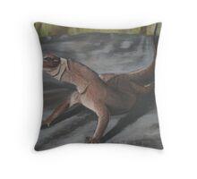 Racehorse Throw Pillow