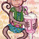 Monkey's Milkshake - mmmm! by micklyn
