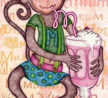 Monkey's Milkshake - mmmm! by micklyn