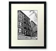 W 129 Street Framed Print