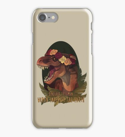 Dinosaur Eats Man iPhone Case/Skin