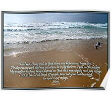~ Psalm 62:5~8 ~ Poster