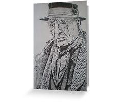Maurice de Vlaminck-Portraitof an Artist Greeting Card