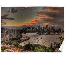Good Morning World (Panoramic)- Moods of A City - The HDR Experience Poster