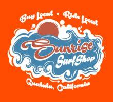 Sunrise Surf Shop, Gualala California Kids Tee