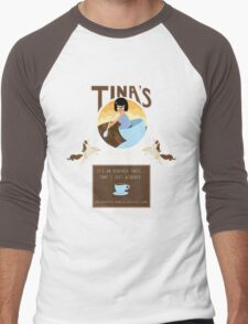 Tinaspresso Men's Baseball ¾ T-Shirt