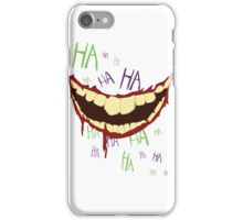 Can't Spell Slaughter Without Laughter iPhone Case/Skin
