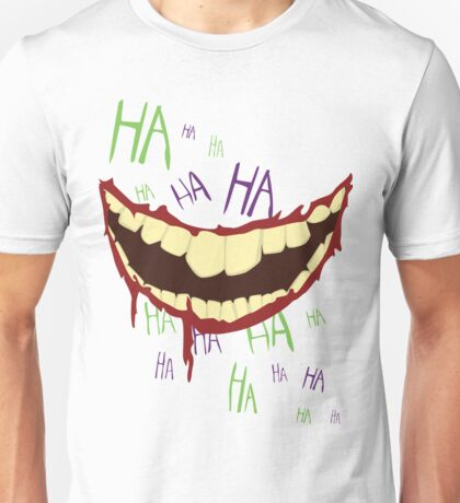 Can't Spell Slaughter Without Laughter Unisex T-Shirt