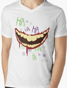 Can't Spell Slaughter Without Laughter Mens V-Neck T-Shirt