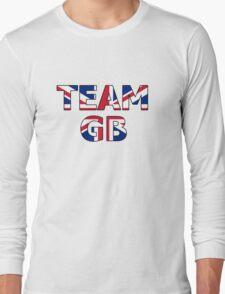 Patriotic Team Great Britain (GB) Long Sleeve T-Shirt