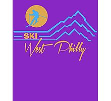 Ski West Philly Photographic Print