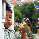 Bubble Boy Innocence by JD McKenna