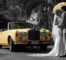 Wedding Car - Hamilton Island by Jason Fewins