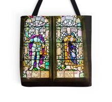 Hubberholme Church Window #1 Tote Bag