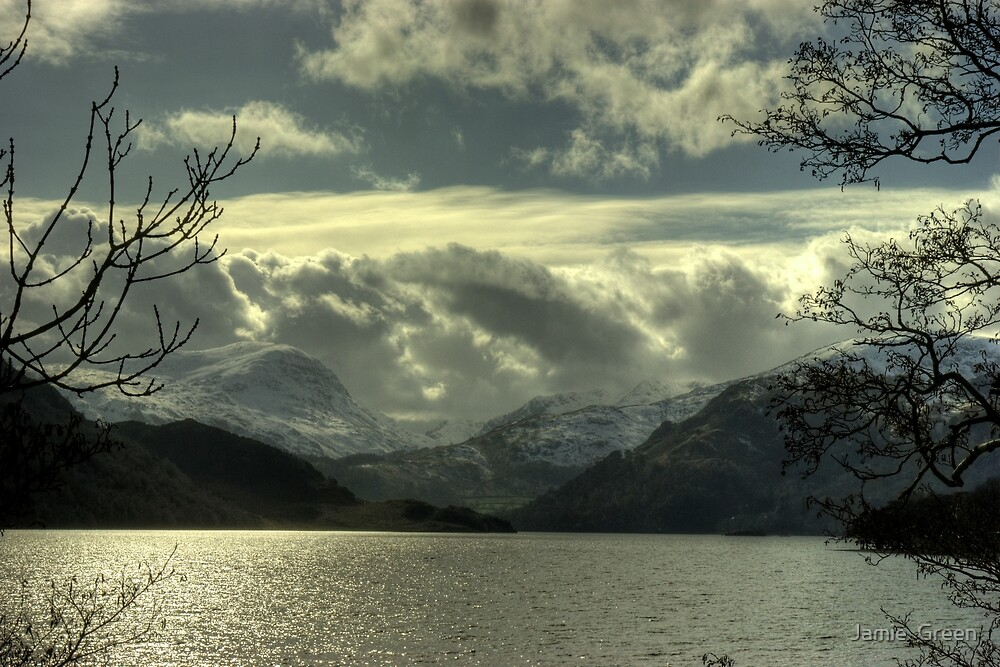 Ullswater in March by Jamie  Green