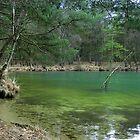 The Blue Lake by ienemien