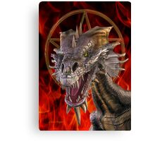 Dragon of Witchcraft Canvas Print