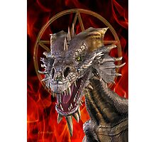 Dragon of Witchcraft Photographic Print