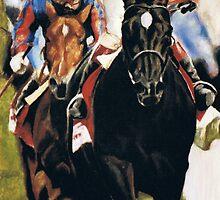 Racehorses  by Nina Smart