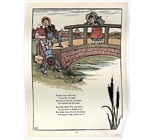 Under the Window Pictures and Rhymes for Children Edmund Evans and Kate Greenaway 1878 0040 Tommy Can Fly Poster