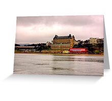The Grand Hotel - Scarborough Greeting Card