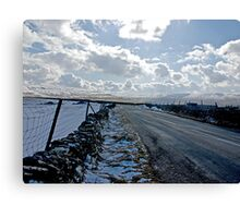 The Road Into The Dales Canvas Print