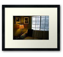 My Living Space Framed Print