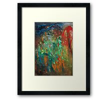 Extracting the Abstract. Framed Print