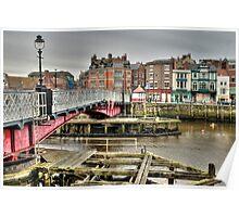 Whitby swing bridge Poster