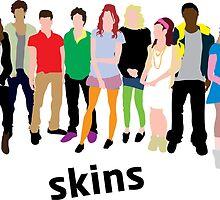 Skins Cast 2 by joshgluck