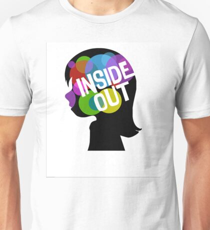 Inside Out of Riley's Head Unisex T-Shirt