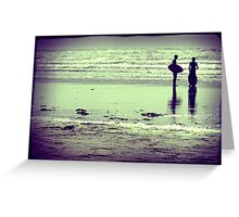 Two boys Greeting Card