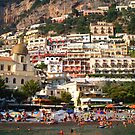 Arriving in Positano by Christine Wilson